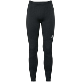 Odlo Suw Performance Warm Pantaloni Uomo, black-odlo concrete grey